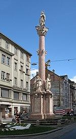 Innsbruck Annasäule from c.N