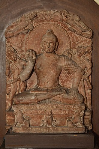 Buddhist art - Mathura school Buddha, Kushan period