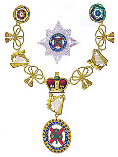Order of St Patrick Dormant British order of chivalry associated with Ireland
