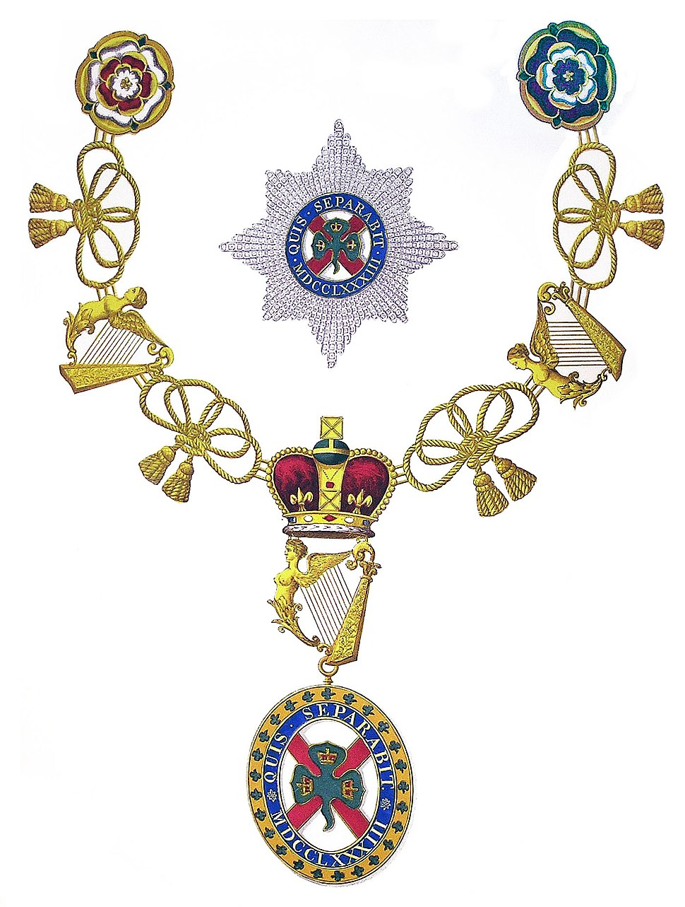 Insignia of Knight of St Patrick
