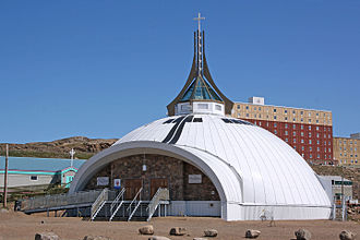 Religion in Canada - St. Jude's Anglican Cathedral in Iqaluit, Nunavut.