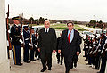 Irakli Menagharishvili is escorted Paul Wolfowitz.jpg