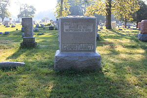 Isaac P. Christiancy - Christiancy grave