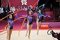 Israel Rhythmic gymnastics at the 2012 Summer Olympics (7915094276).jpg