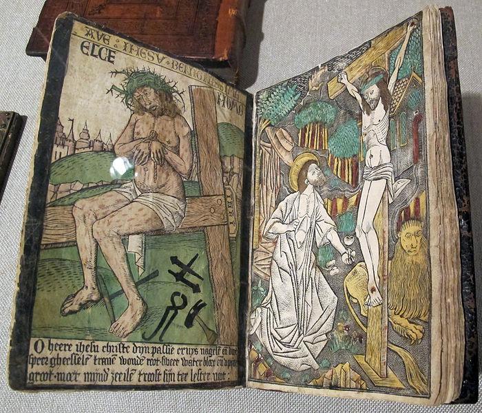 File:Israhel van meckenhem, raccolta di incisioni (olandesi e tedesche) con meditazioni manoscritte, XV sec..JPG