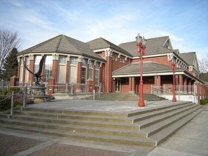 City Hall, Issaquah, Washington.