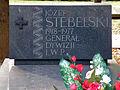 Józef Stebelski - Irena Stebelska - Cmentarz Wojskowy na Powązkach (103).JPG