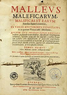 Malleus malleficarum. Libros malditos