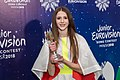 JESC 2018. Roksana Wegiel with trophy.jpg