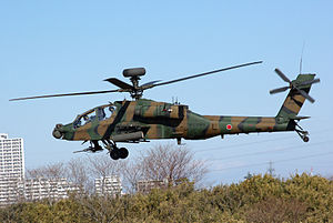 Subaru Corporation - JGSDF AH-64D (DJP) attached to the 1st Airborne Brigade January 2012