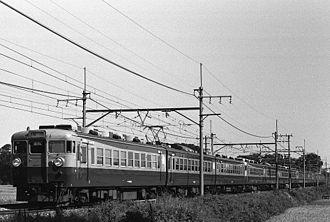 Nasuno - 165 series Nasuno service, 1984