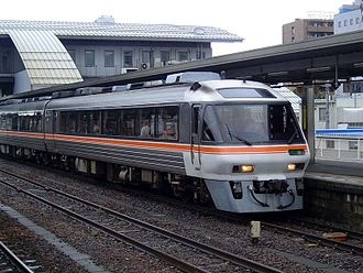 Takayama Main Line - Hida limited express train