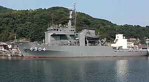 JS Genkai (AMS-4304) in Kariya Bay, 9 Oct 2011 a.jpg