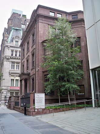 J. P. Morgan Jr. - Jack's brownstone, now part of the Morgan Library