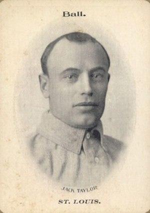 Jack Taylor (1900s pitcher) - Image: Jack Taylor 1906