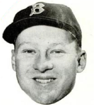 Jackie Jensen - Jensen with the Red Sox.