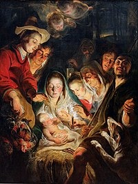 Jacob Jordaens - Aanbidding door de herders.jpg
