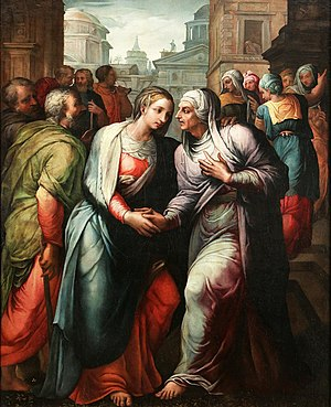 Jacopo Coppi - The Visitation