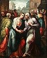 Jacopo Coppi detto 'del Meglio' La Visitazione, Olio su tavola 177 x 141. Galleria Romigioli antichità.jpg