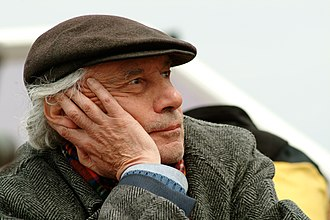 Jacques Rivette - Rivette during filming of The Duchess of Langeais in 2006