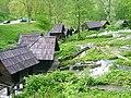 Jajce, Pivská jezera-skupina vodních mlýnků1.jpg