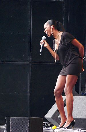 Jamelia - Jamelia performing at Rise, 2007