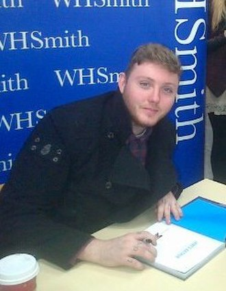 James Arthur - James Arthur at a book-signing session at WHSmith in Middlesbrough on 9 January 2013
