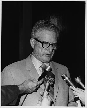 James E. Boyd (scientist) - James E. Boyd speaking to the media