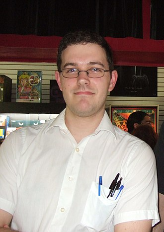 James Rolfe - Rolfe as his trademark character, the Angry Video Game Nerd