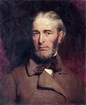 James Giles (painter) - Self portrait