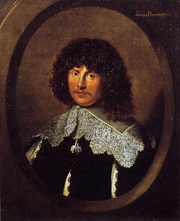 Portrait of James Harrington, oil on canvas, c. 1635