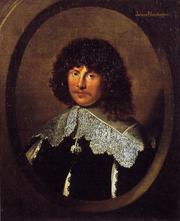 Portrait of James Harrington, oil on canvas, c. 1635