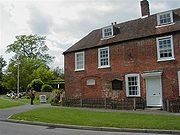 Chawton Cottage, where Jane Austen lived during the last eight years of her life and now a museum