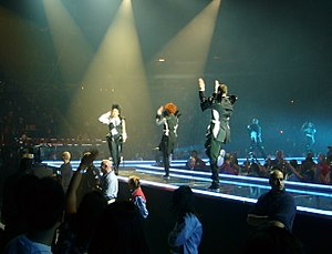 """All Nite (Don't Stop) - Jackson performing """"All Nite (Don't Stop)"""" on the Rock Witchu Tour of 2008."""