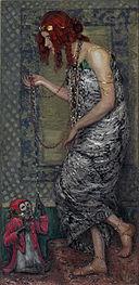 Janis Rozentāls - The Princess and the Monkey - Google Art Project.jpg