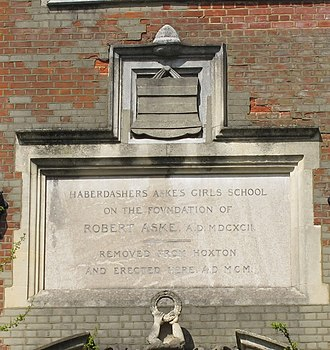 Japanese School in London - The current campus was previously the Haberdashers' Aske's School for Girls