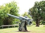 Japanese Type 10 120 mm AA Gun on Corregidor Flickr 7607743126.jpg