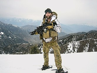 Jason Everman - Everman serving with the U.S. Army Special Forces in Afghanistan