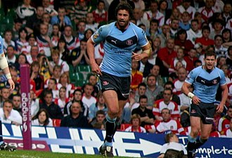 Jason Cayless - Cayless playing for St Helens in 2008