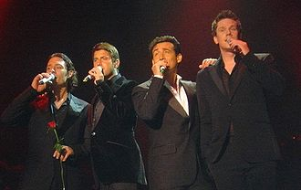 Il Divo - Il Divo in Kallang, concert in Singapore Indoor Stadium 18 January 2007.