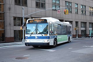 B54 (New York City bus) Bus route in Brooklyn, New York