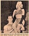 Jayne Mansfield with Mickey Hargitay, 1955.jpg