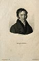 Jean-Etienne-Dominique Esquirol. Stipple engraving by A. Tar Wellcome V0001787.jpg