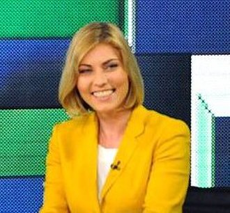 RT Spanish - Jelena Milincic in RT studios.
