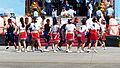 Jeng Dong Dance Company Peform Battle Dance on Chih Hang Air Force Base Apron 20130601c.jpg