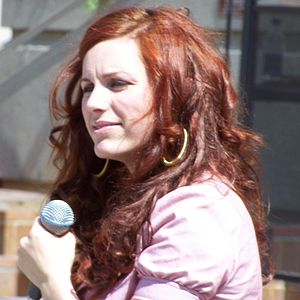 Jessie Farrell - Jessie Farrell performing at Olympic Plaza in Calgary, Alberta, Canada