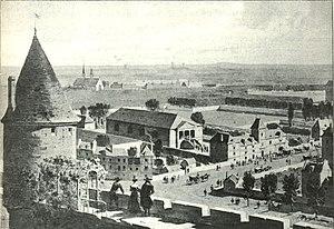 Paris Opera - View of the Salle du Bel-Air