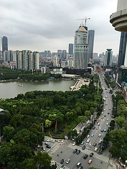 Jianshe Ave from Qingnian Rd to Xinhua Rd.JPG