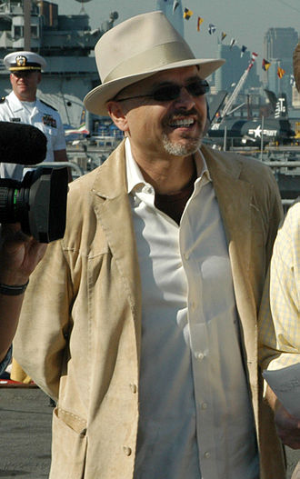 Joe Pantoliano - Pantoliano aboard the USS John F. Kennedy during Fleet Week, 2005