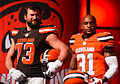 Joe Thomas Donte Whitner Cleveland Browns New Uniform Unveiling (16966949920).jpg